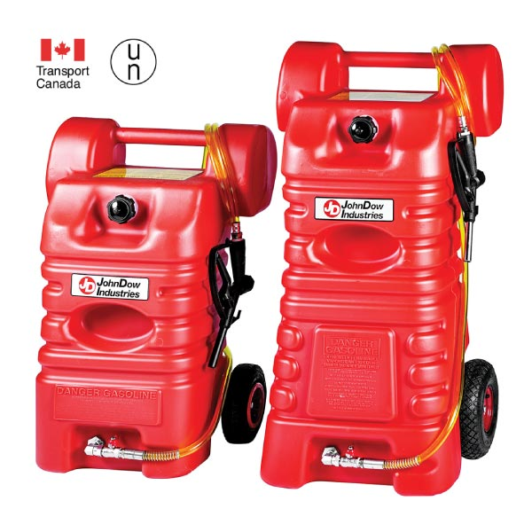Two Capacities Portable Gas Carts