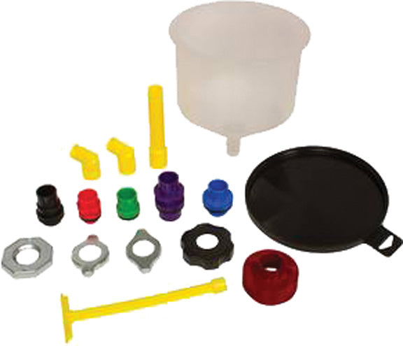 Spill-Free Coolant Funnel Kit