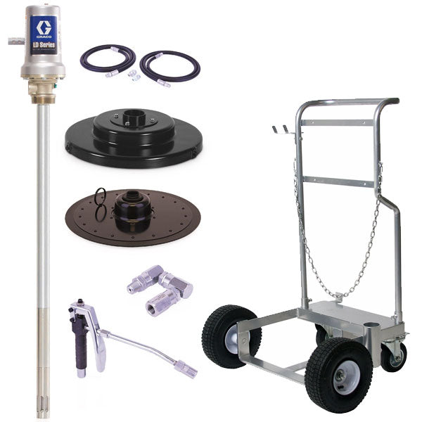 LD Series 50:1 - 120 Lb Grease Package (Mobile Cart)