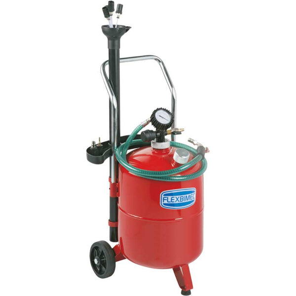 Flexbimec US3024 | Mobile Waste Oil Recovery and Vacuum System, 6.34 Gallons
