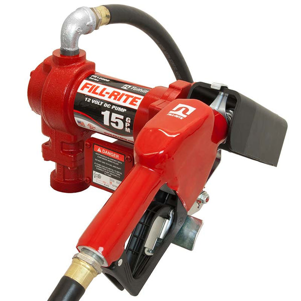 Fill Rite Fuel Transfer Pump With Hose & Nozzle