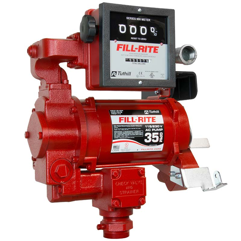 Fill Rite Pump With Meter