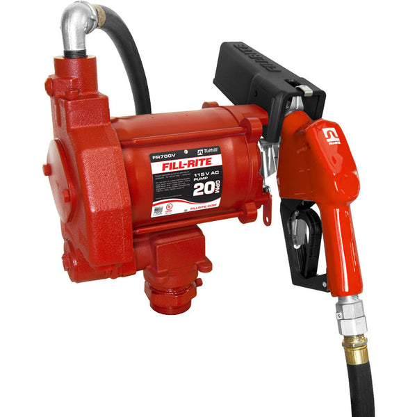 Fill Rite Pump with Automatic Nozzle