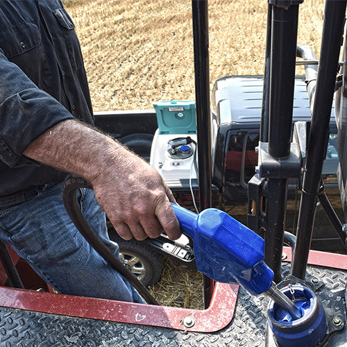 diesel exhaust fluid transfer gun