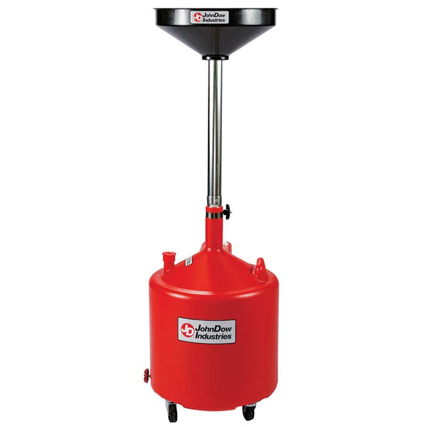 18 Gallon Economy Portable Poly Oil Drain