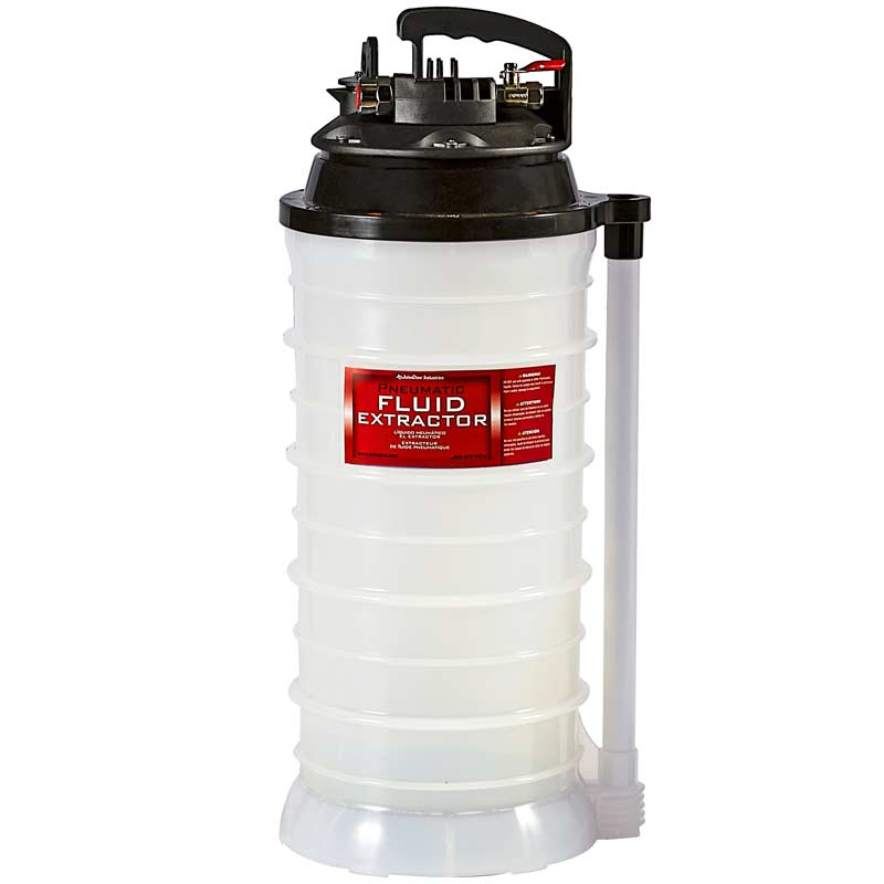Vacuum Fluid Extractor – Pneumatic - 2.7 Gallon