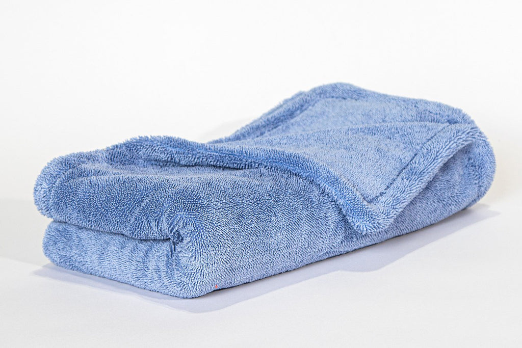 The best drying microfiber towel in blue