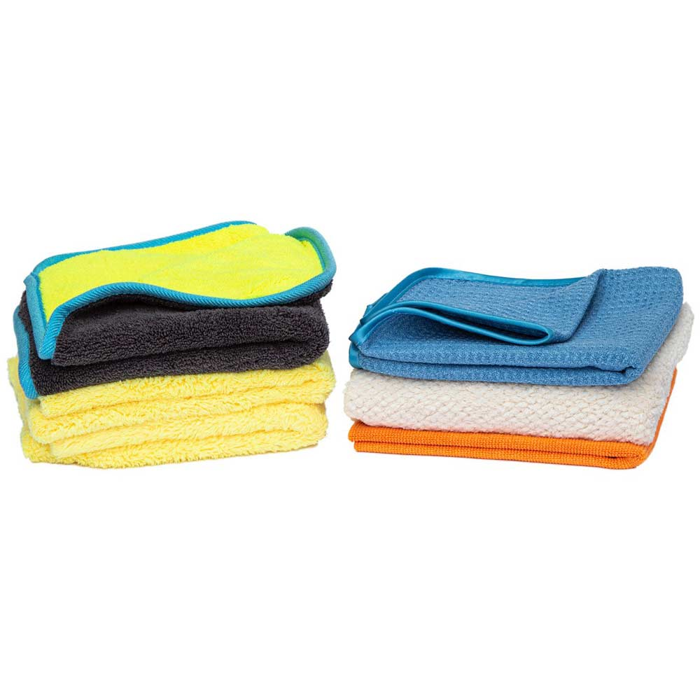 Microfiber Towels Starter Pack for Automotive Detailing