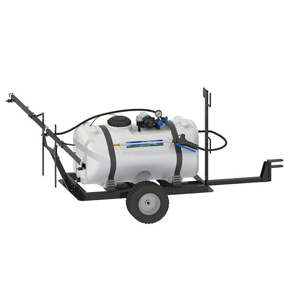 40 Gallon Deluxe Field Trailer Broadcast and Spot Sprayer