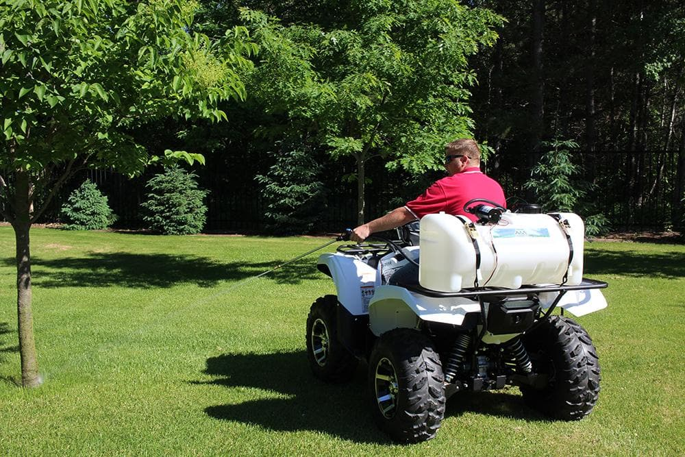 25 gallon lawn and garden sprayer