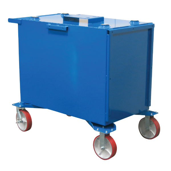 125 Gallon (1-Fluid) Steel Tank on Casters