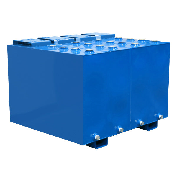 60 Gallon Each (4-Fluid) Steel Tank with Fork Pockets