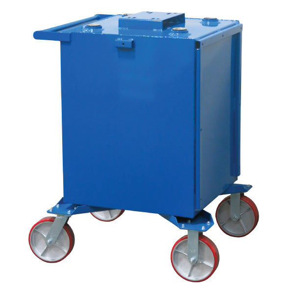 75 Gallon (1-Fluid) Steel Tank on Casters