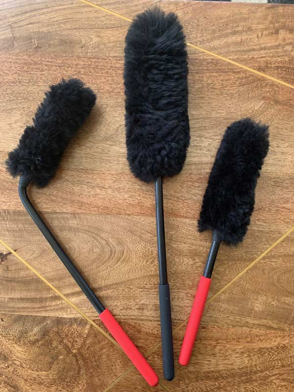 Wheel Brushes Set of 3