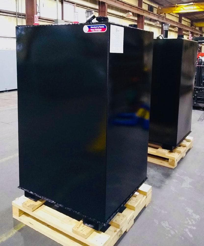 Black Bulk Double Walled Steel Tanks
