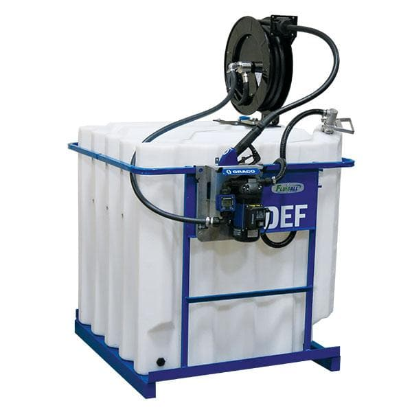 240 Gallon Caged (DEF) Tank Package, 120V