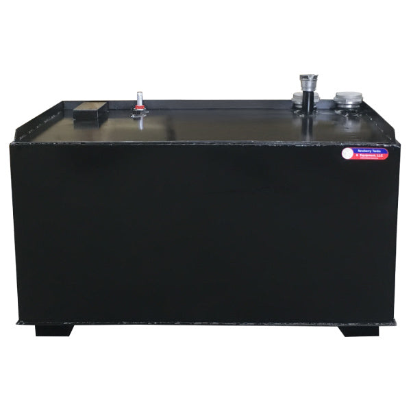 Double Wall Steel Bench Top Tank - Black