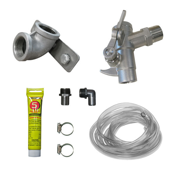 Gravity Feed Kit -  Add A Tank - Stainless Steel Valves