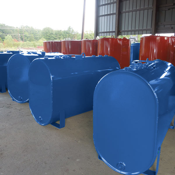 Obround Horizontal Tanks