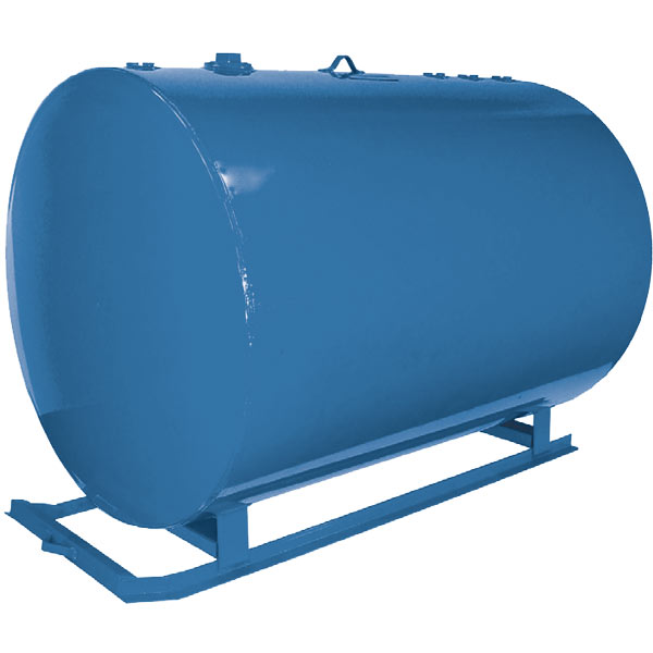 Steel Round Horizontal Skid Tanks