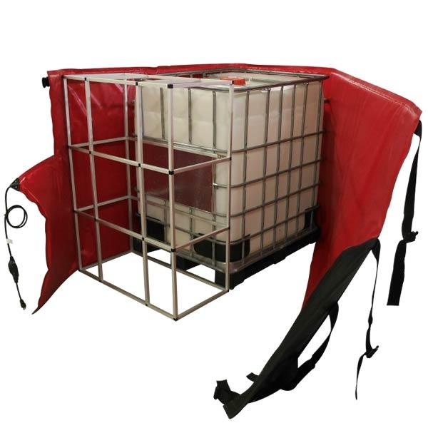 330 Gallon DEF Tote Heater Blanket with Extended Frame