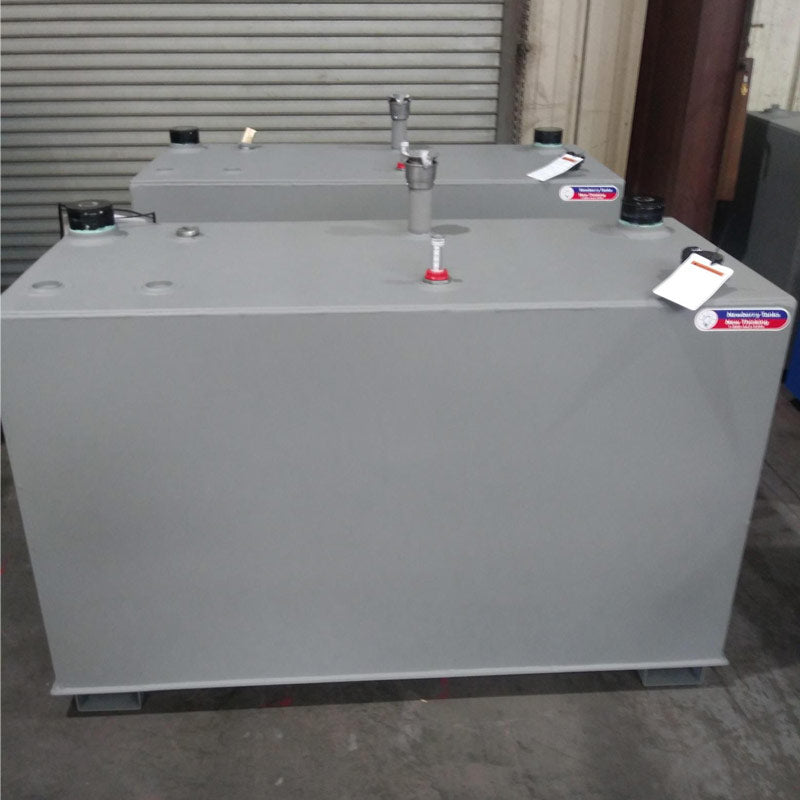Slim Steel Oil Tank