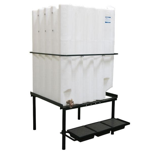 330 gallon oil storage system