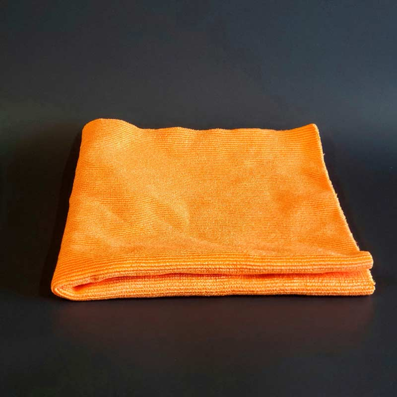 Prefered glass cleaning mircrofiber towel