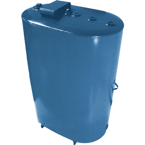 Steel Obround Vertical Tank, Double Wall