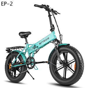 20*4.0inch Fat Tire Electric bike Aluminum Foldable electric Bicycle 48V12A 500W Powerful bike 7speeds Mountain/Snow/Beach ebike