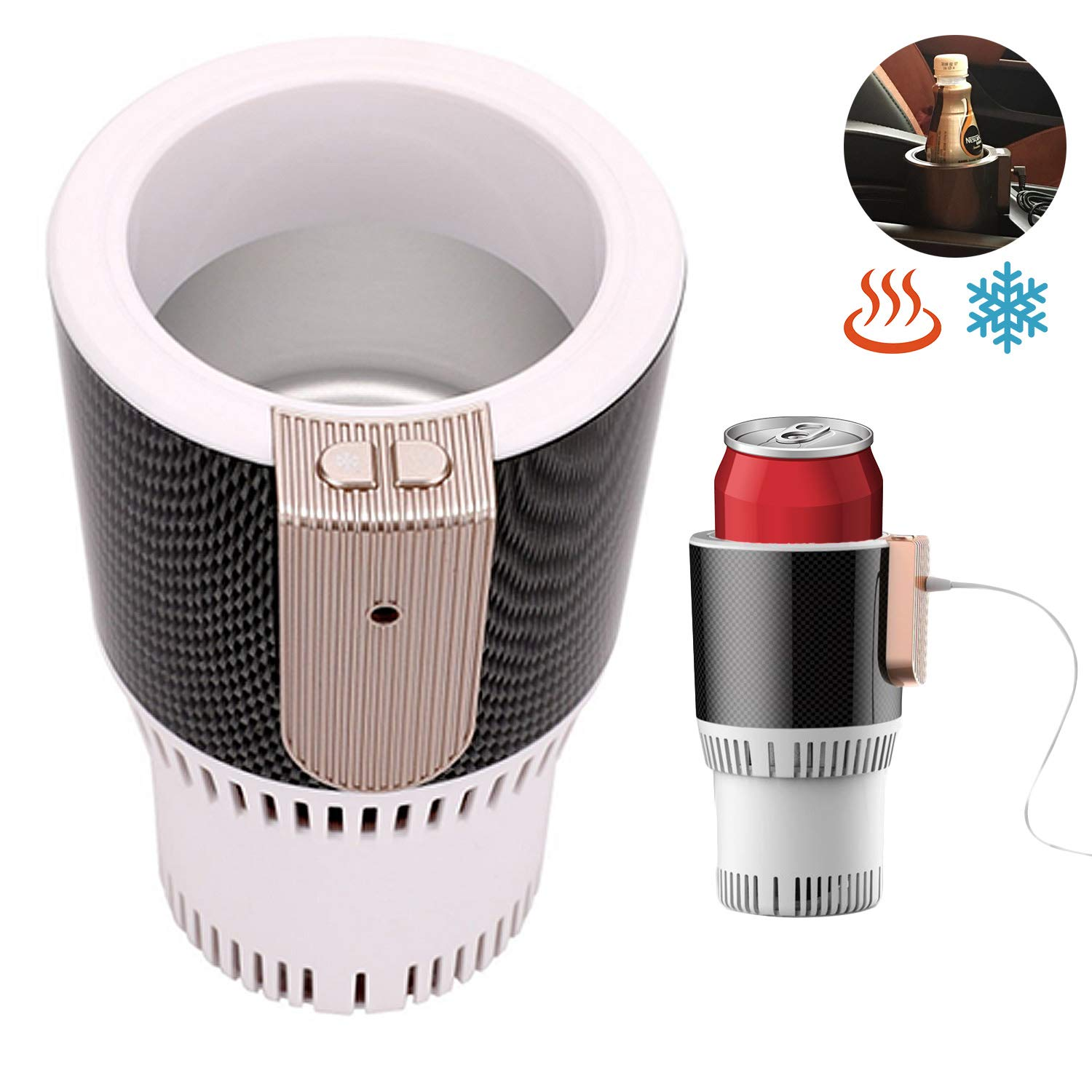 Smart Car Cup | Car Coffee Warmer/cooler Cup