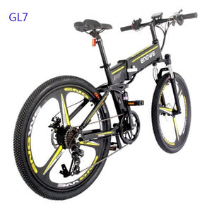 Electric Bike 48V12.5A Lithium Battery 26 inch Aluminum Folding Electric Bicycle 400W Powerful Mountain ebike Snow /beach e bike