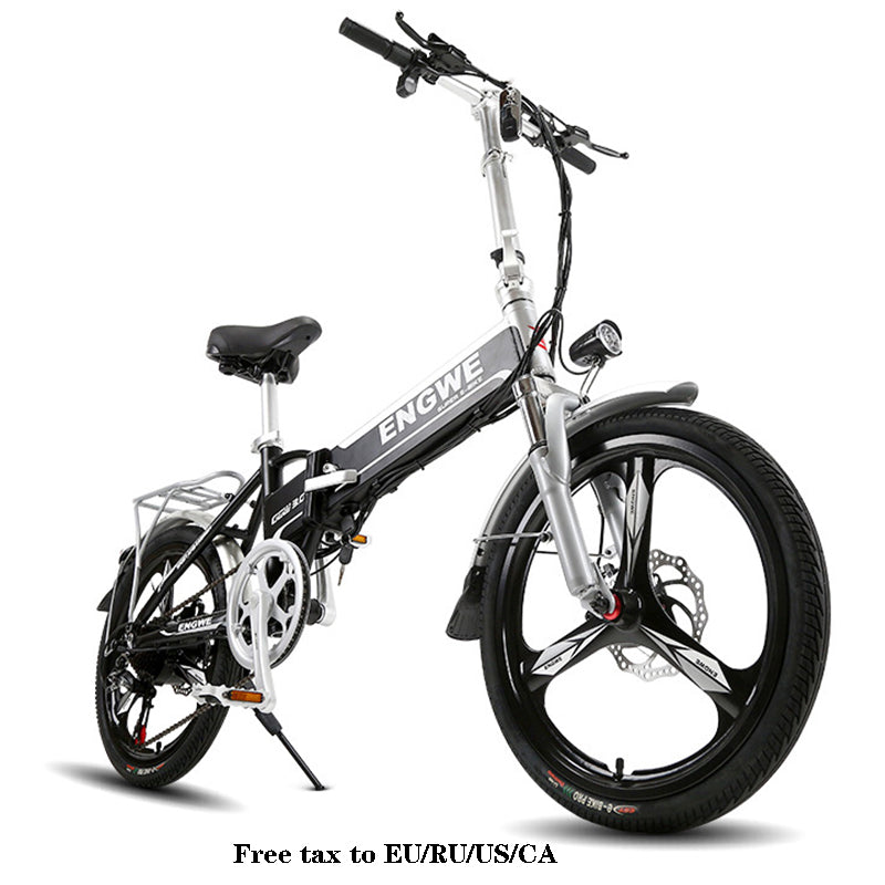 Electric bike Aluminum Folding electric Bicycle 20 inch 400W Powerful Mottor 48V12A Battery 32km/h Mountain e bike city/Snow bike