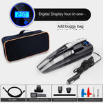 Car Vacuum, Corded Car Vacuum Cleaner High Power for Quick Car Cleaning, DC 12V Portable Auto Vacuum Cleaner for Car Use Only -Black