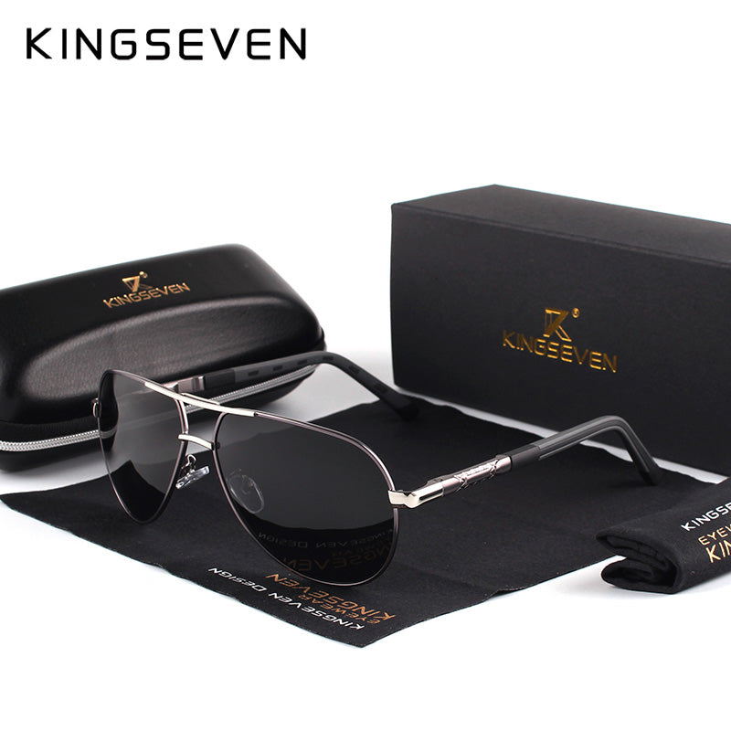 Luxury Men Vintage Aluminum Polarized Sunglasses Classic Brand Sun glasses Coating Lens Driving Eyewear For Men/Women