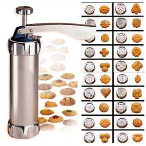 New 2019 20Pcs Baking Cake Biscuits Mold Cookie Press Making Gun Cookies Lcing Mould Kit 2019