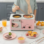 Household Multifunctional Breakfast  Automatic Electric Oven Toaster Kitchen Appliances Toaster Oven  Breakfast Machine