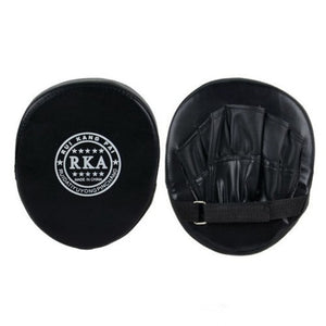 1pcs Boxing Hand Target MMA Martial Thai Kick Pad Kit Black Karate Training Mitt Focus Punch Pads Sparring Boxing Bags
