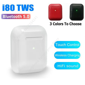 Original i80 TWS MIni Earbus Wireless Bluetooth Earphones Stereo Headset pk i10 i12 i60 i100 i500 i9000 i50000 i100000 TWS Pro