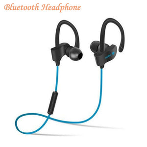 Bluetooth Headphone Wireless Bluetooth Earphone Sport Headset Waterproof Bass with Micphone for xiaomi iPhone MP3 Music Player