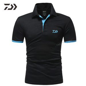 Daiwa Clothing Fishing Clothing Breathable Polo T Shirt Men Polo Shirt Men Top Casual Sport Fishing Shirt Daiwa Fishing Clothes