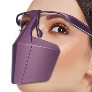 Anti-fog Splash-proof Dust-proof Face-protective Cover Anti Saliva Reusable Anti Glasses Mist Outdoor Travel Personal Protection