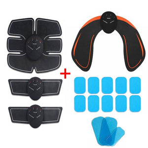 Abdominal Muscle Stimulator Hip Trainer Toner Abs EMS Fitness Training Gear Machine Home Gym Weight Loss Body Slimming Machine