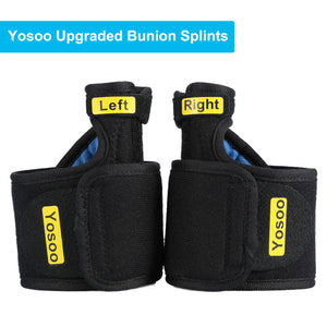 Bunion Correctors,1 Pair Adjustable Soft Toe Straightener & Corrector Brace Pad Big Toe Straighteners Separators for Pain Relief