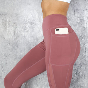 Fitness Women Leggings Push up Women High Waist Pocket Workout Leggins 2019 Fashion Casual Leggings Mujer 3 Color