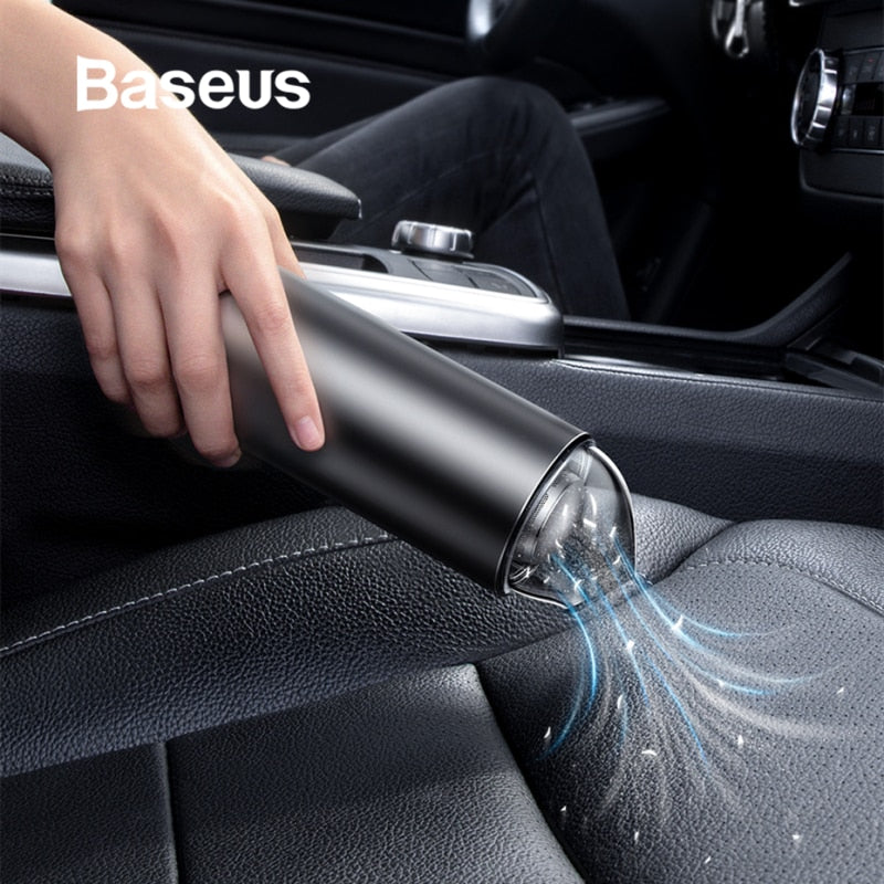 Baseus Portable Mini Car Vacuum Cleaner Wireless Handheld 4000Pa Auto Car Interior Cleaner Home Indoor Mini Vacuum Cleaner