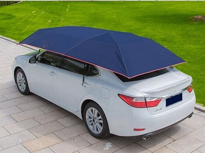 Automatic Car Cover Tent | Remote Controlled Car Sun shade Umbrella