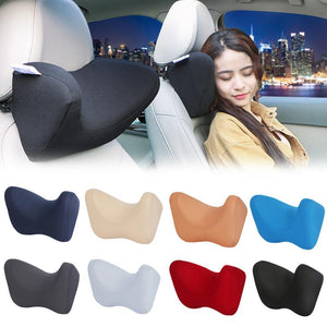 Car Headrest Neck Pillow | Memory Foam Car Pillow