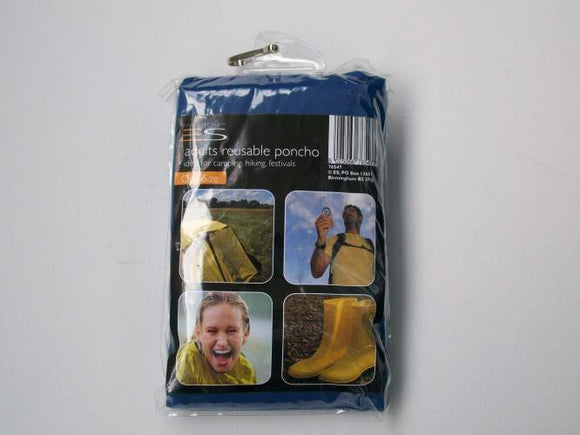 Emergency Poncho - Blue