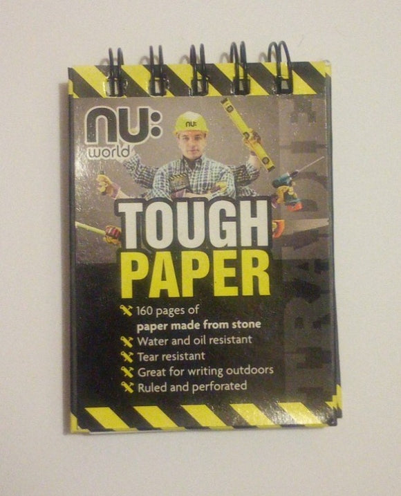 Notepad with Untearable Paper